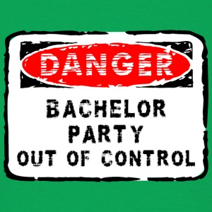 Bachelor Party Out of Control - Mannen T-shirt