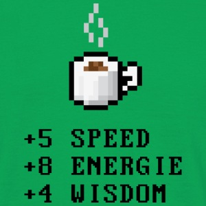 Pixel Coffee with Stats