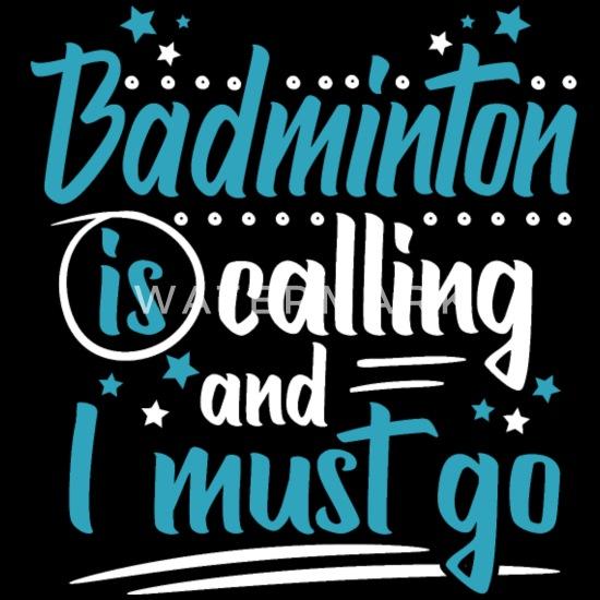 Badminton Dzwoni Fajne śmieszne śmieszne Przysłowia Plecak Czarny