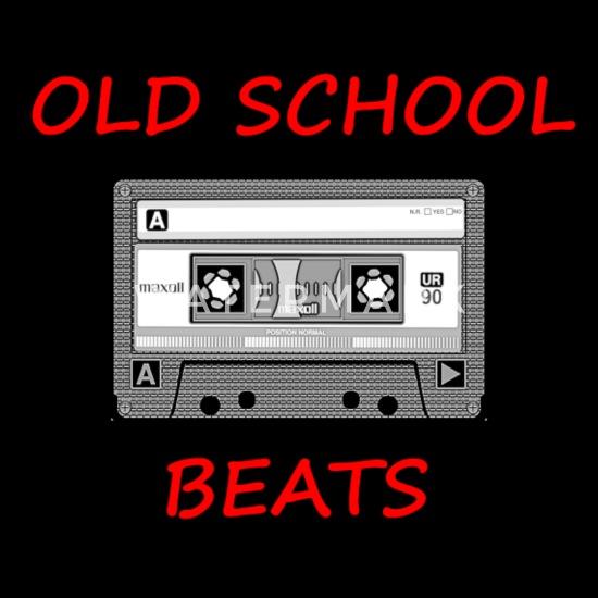 Old School Beats Plecak - czarny