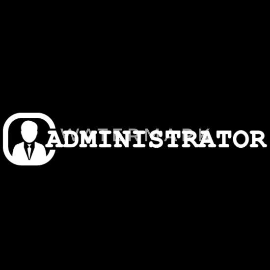 Admin Computer Wetenschapper Cadeau Systeemadmin Pc Baas Rugzak Zwart