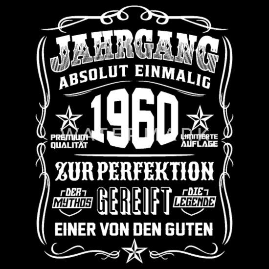 Jahrgang 1960 Geschenk 59 Geburtstag 59 Jahre Rucksack Schwarz