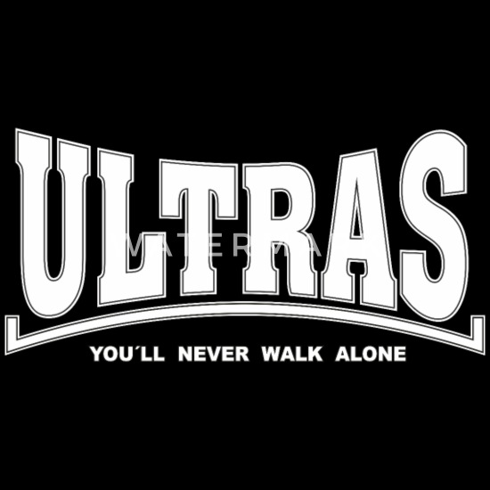 Frankfurt Herren Polo Shirt Ultras You`ll never walk alone