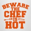beware the chef is hot! sexy cooking action! - Beer Mug