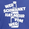 bier party trinksport - Frauen Kontrast-T-Shirt