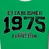established 1975 - aged to perfection(nl) - Vrouwen contrastshirt