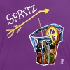 Spritz Aperol Party T-shirts Venice Italy - Energy Drink - Women's Ringer T-Shirt