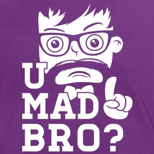 Like a cool you mad story bro moustache