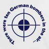There were ten german bombers in the air - Women's Ringer T-Shirt