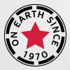 on earth since 1970 (nl) - Vrouwen contrastshirt