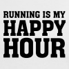 Running Is My Happy Hour - Women's Ringer T-Shirt