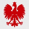 Simple Polish eagle-Red - Women's Ringer T-Shirt