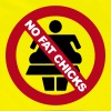 NO FAT CHICKS BUTTON - Reflective Vest