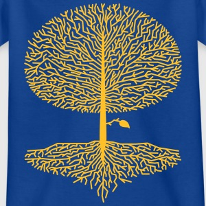 Laubbaum Crown Wood Oak Beech Natural lime tree branches - Kids' T-Shirt