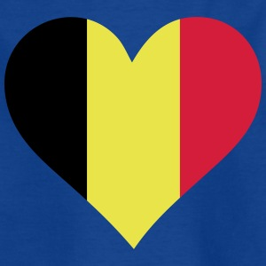 A Heart For Belgium - Kids' T-Shirt