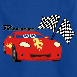 Car Race - Kinderen T-shirt