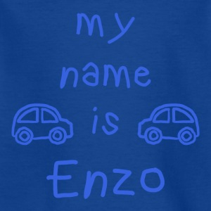 ENZO MY NAME IS - T-skjorte for barn