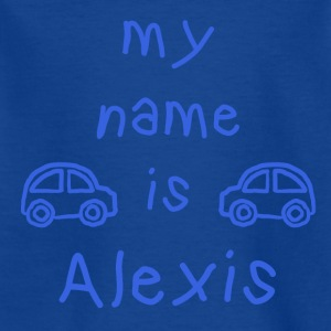 ALEXIS MEIN NAME - Kinder T-Shirt