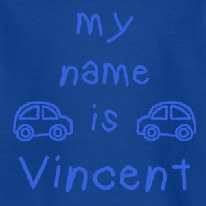 VINCENT MY NAME IS - Kids' T-Shirt