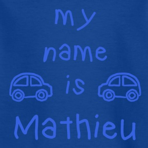 MATHIEU MEIN NAME - Kinder T-Shirt