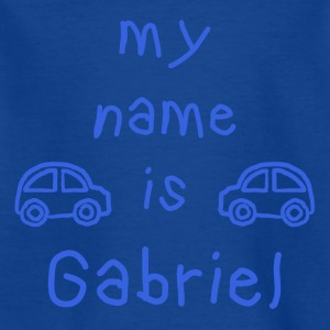 GABRIEL MY NAME IS - T-skjorte for barn