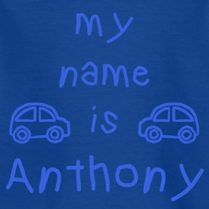 ANTHONY MY NAME IS - T-skjorte for barn