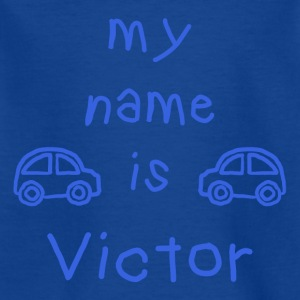 VICTOR MY NAME IS - Kids' T-Shirt