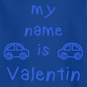 VALENTIN MY NAME IS - Kids' T-Shirt