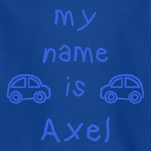 AXEL MY NAME IS - T-skjorte for barn