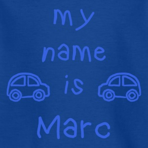 MARC MY NAME IS - Kids' T-Shirt