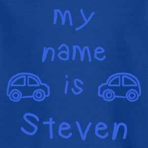 STEVEN MY NAME IS