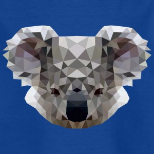 Polygon Koala - Kids' T-Shirt