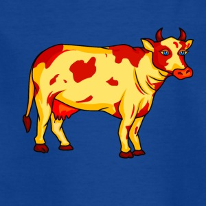 Cartoon Cow - Kids' T-Shirt