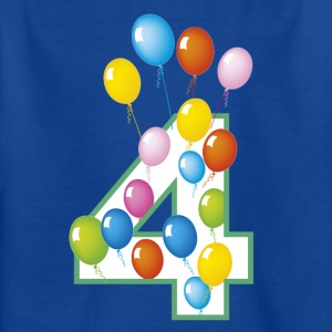 fourth 4th and 4th birthday - Kids' T-Shirt