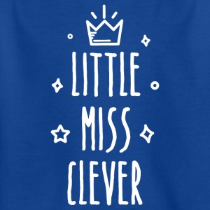 Little miss Clever - T-shirt barn