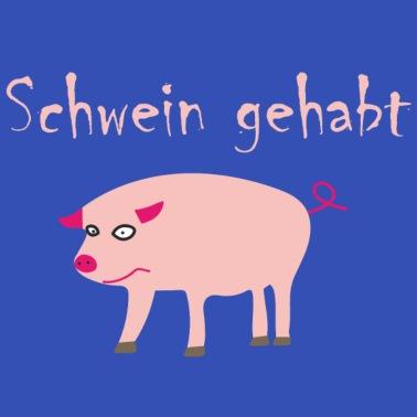 Glück Schwein Gehabt Lustiger Spruch Geschenkidee Baby Bio