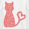 CAT / GIRL T-SHIRT - Kids' T-Shirt