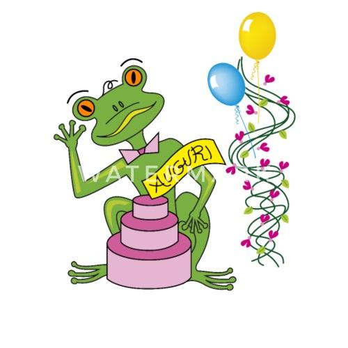 Kikker Gelukkige Verjaardag Roze Cake Kinderen T Shirt Spreadshirt