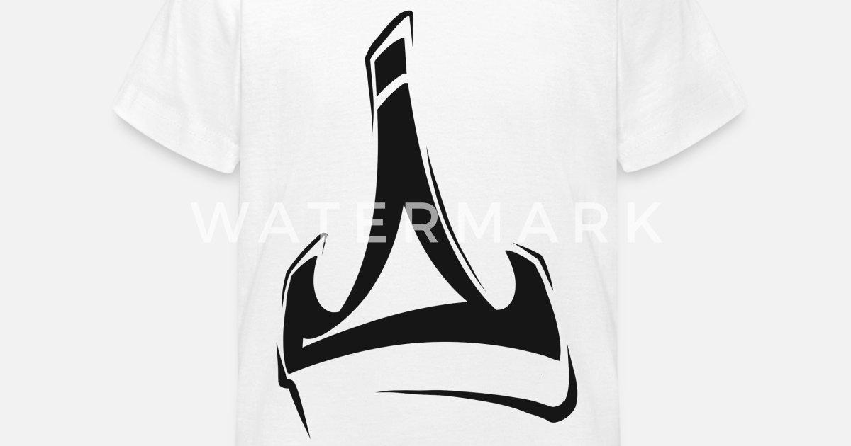 Graffiti crown Kids' T-Shirt | Spreadshirt