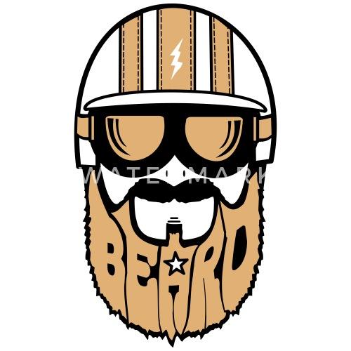 Dessin De Motard dessin beard motard t-shirt enfant | spreadshirt