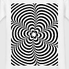 Optical illusion (Impossible) Black & White OP-Art - Kids' T-Shirt