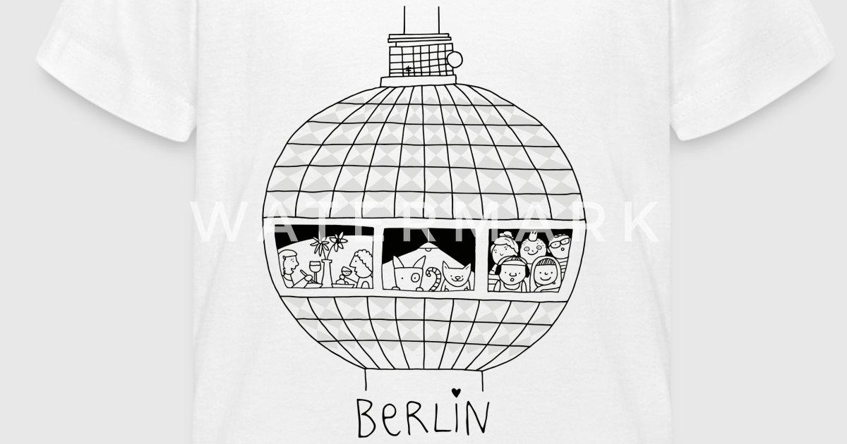 Berliner Fernsehturm | zum Ausmalen | littlepublic von littlepublic ...