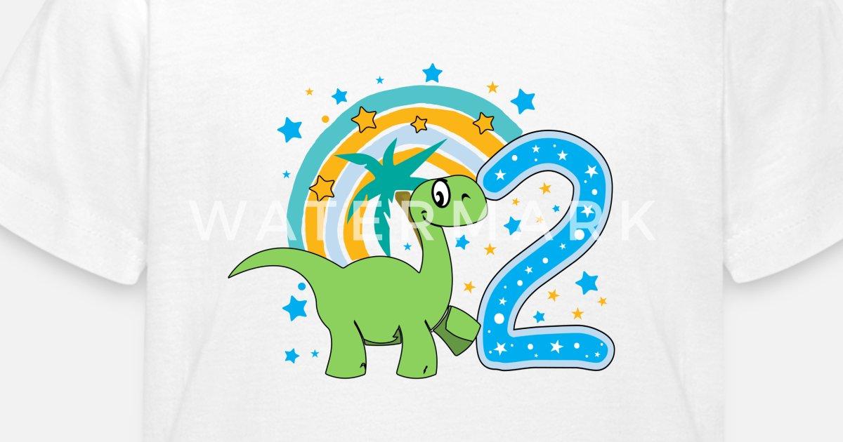 Tweede Verjaardag 2de Verjaardag Twee Jaar Oud Kinderen T Shirt