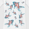 Fische in blau rosa - Kinder T-Shirt