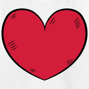 Heart love - Kids' T-Shirt