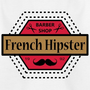 FRENCH HIPSTER - Kinder T-Shirt