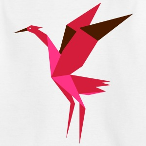 Origami Crane - Japanese Design - Kids' T-Shirt