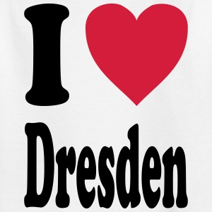 I love Dresden - Kids' T-Shirt