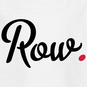 rowing - Kids' T-Shirt