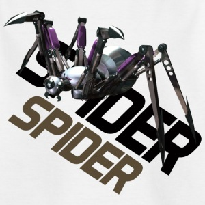 Spider angrep - GameArt - T-skjorte for barn